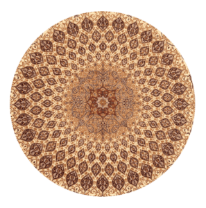 Logo, Round Ornate Center of Rug