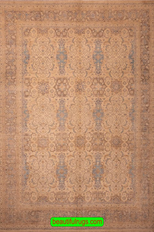 Hand Woven Oriental Rug, Transitional Rug, Ziegler Style Rug, size 8.9x11.10, main image