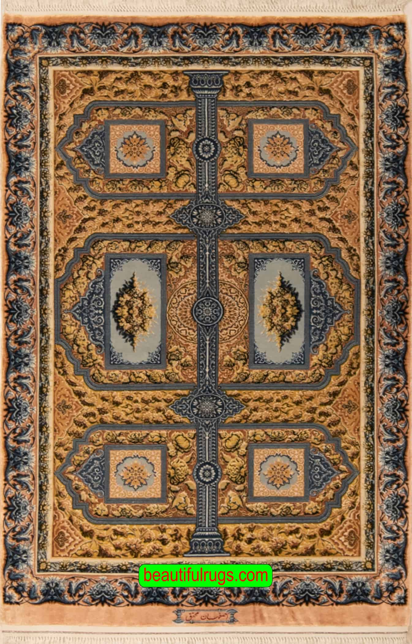 Vegetable Dyed Persian Rug
