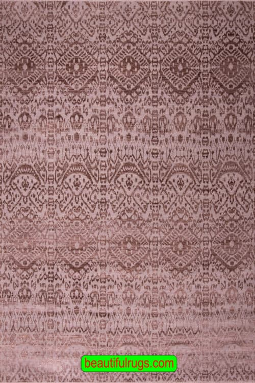 Decorative Contemporary Rug, Brown and Gray Color Rug, main image, size 9.2x12.2